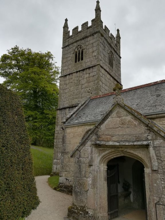 Kirche auf dem Anwesen Lanhydrock