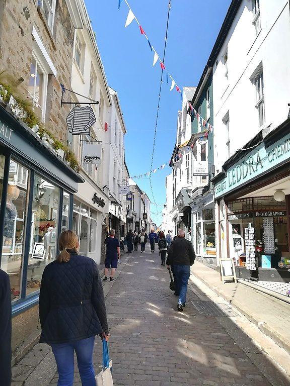 Flanieren in der Cornwall in Saint Ives City