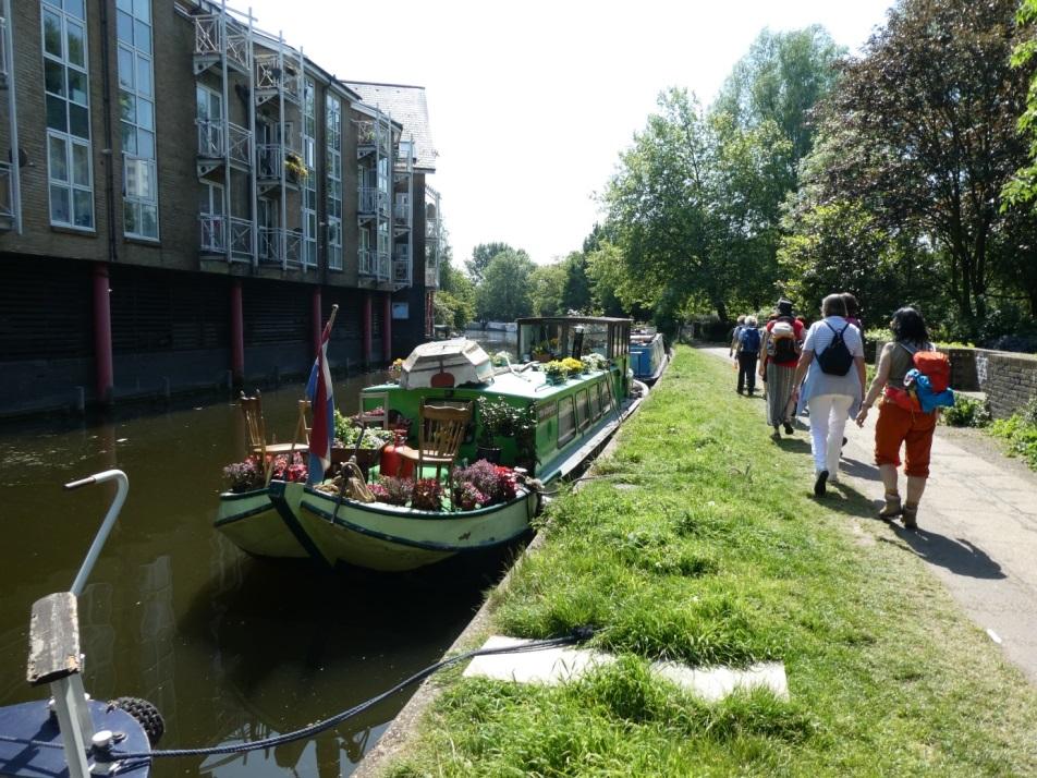 Kanal-Ufer in London