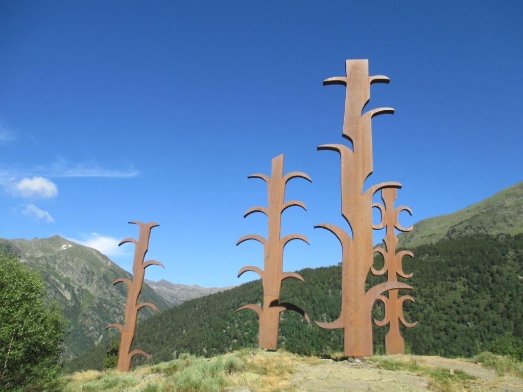 Schöne Berge, originelle Kunst, …