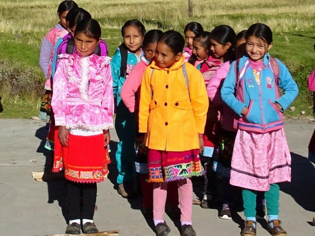 Schulbesuch in Peru