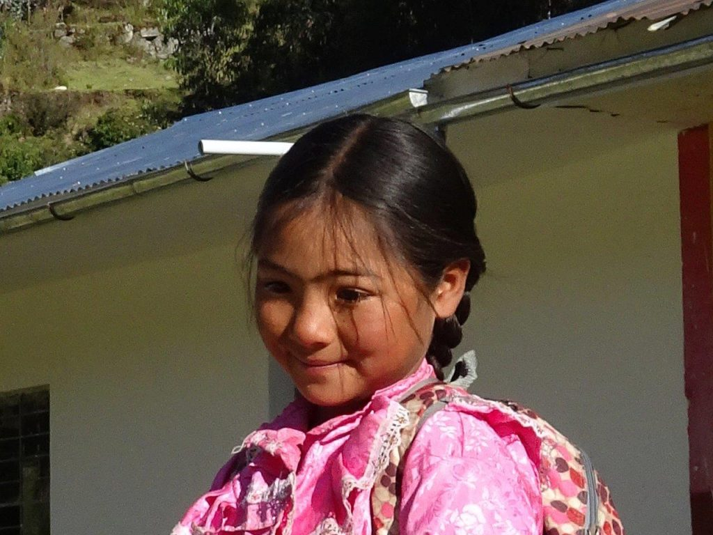 Peruanisches Mädchen