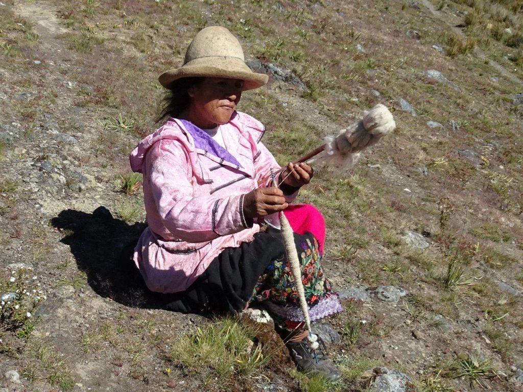 Peruanische Einheimische