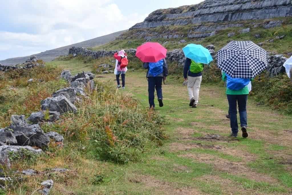 """Wandern in Irland bei """"Soft Rain"""" - Nieselregen"""