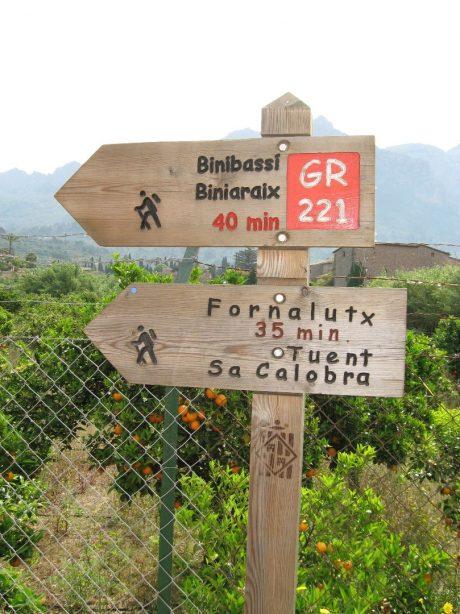 Wanderung nach Fornalutx