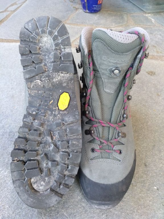 steigeisenfester Schuh