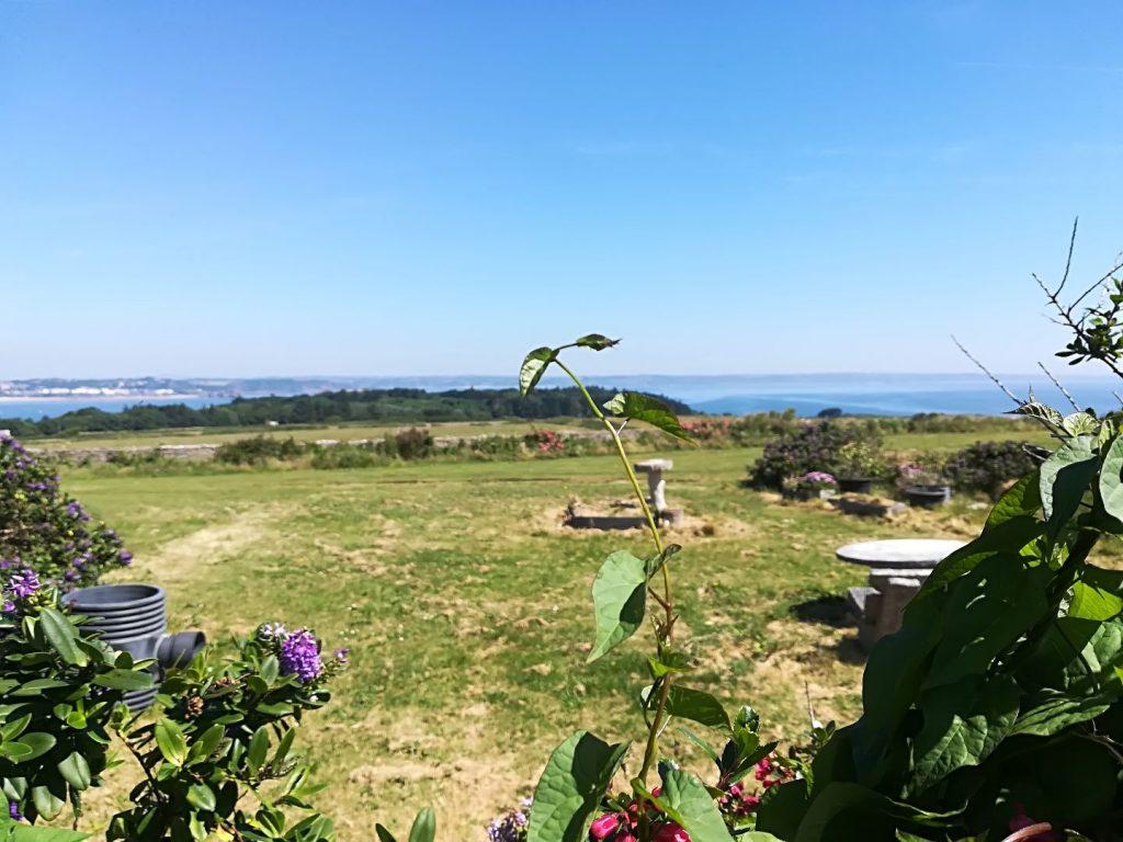 Auf Caldey Island