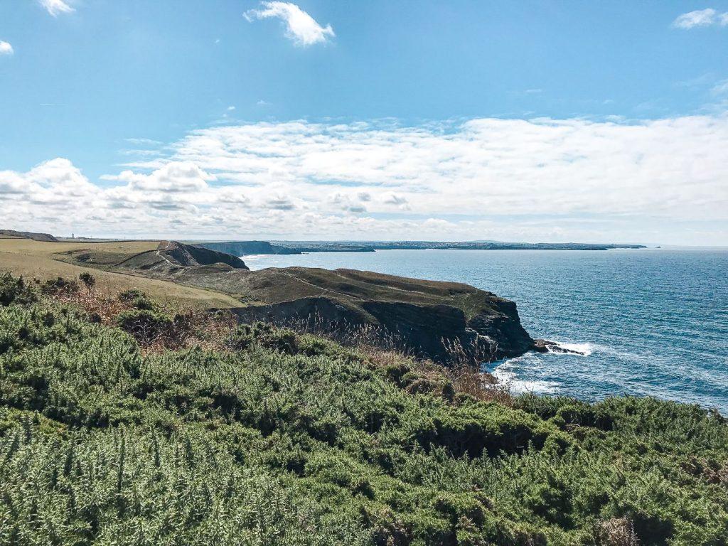 Wandern an Cornwalls Coast Line