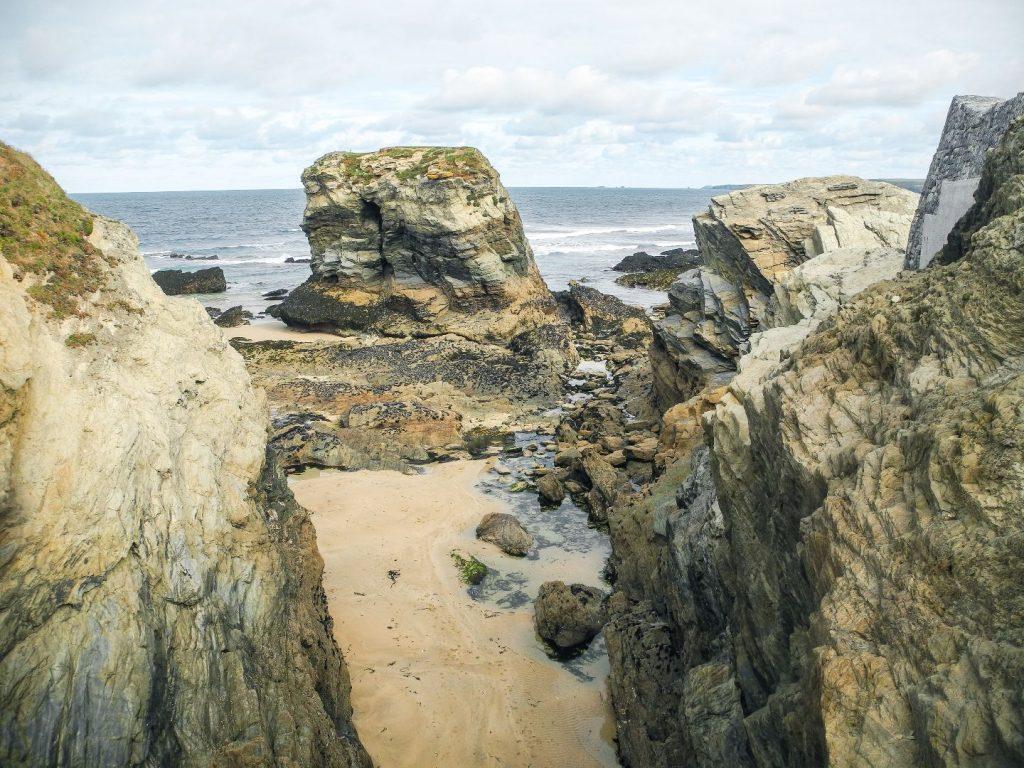 Am Coastal Path in der Nähe von Newquay