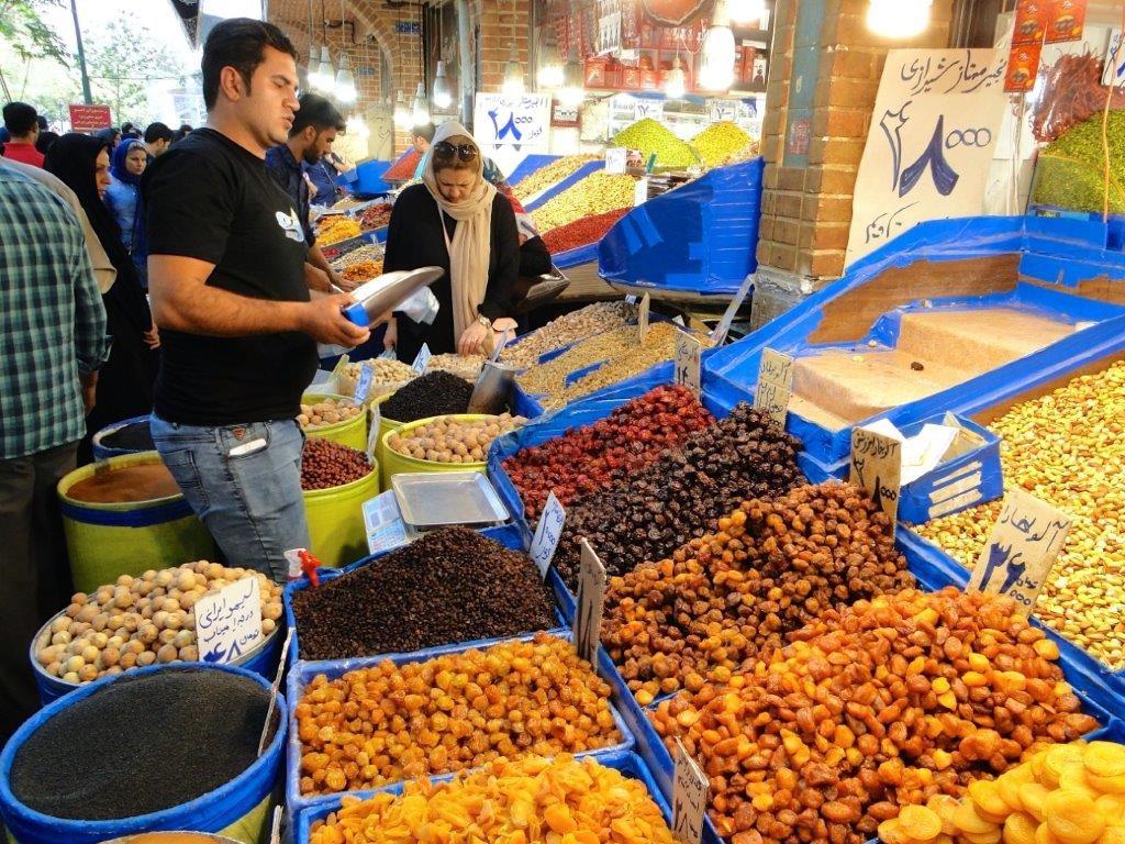 Marktbesuch im Iran