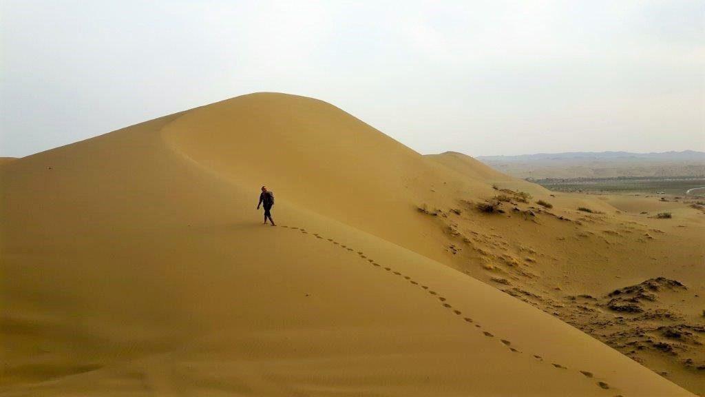Wüstenerlebnis beim Trekking im Iran