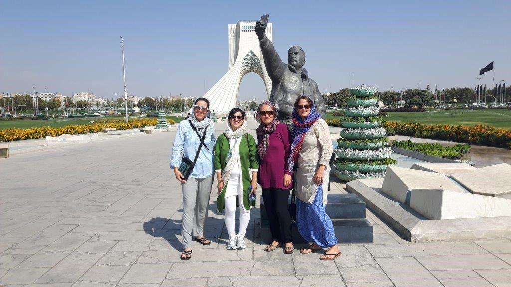 Gruppenfoto im Iran