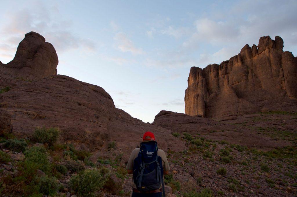Trekking durch Marokko
