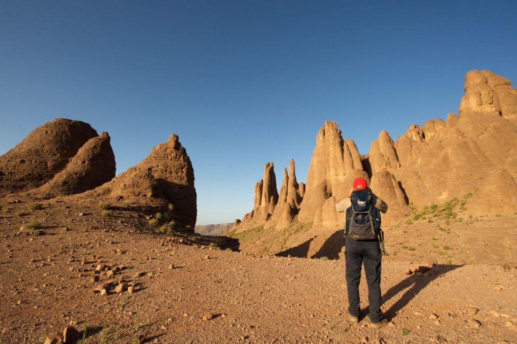 Fotosession vor Marokkos Bergwelt