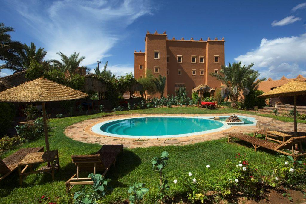 Komfortable Unterbringung in Marokko