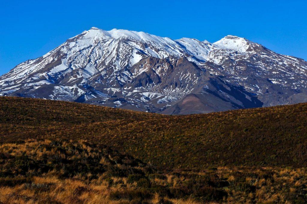 Der Ruapehu-Vulkan