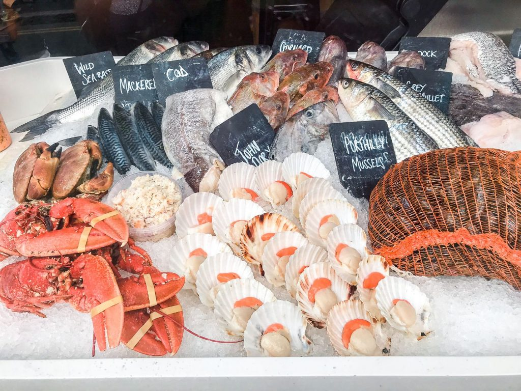 Seafood in Padstow