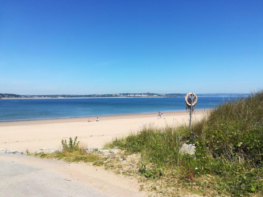 Strand auf Caldey