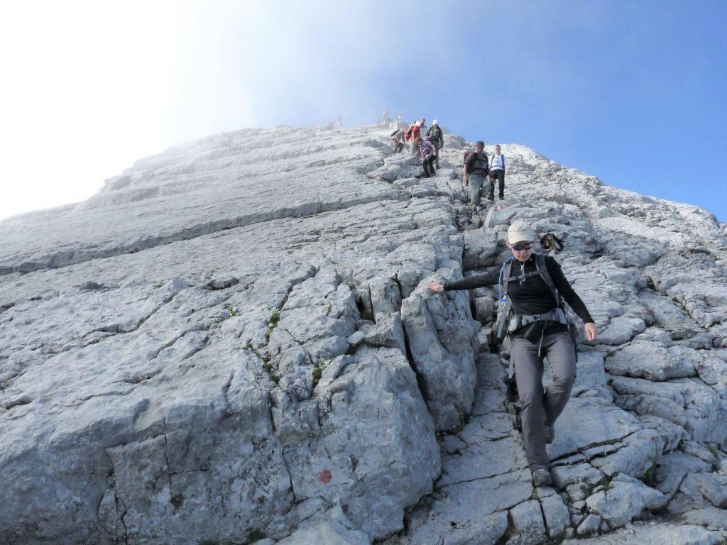 In den Bergen ist jeder Schritt ein Kunstwerk