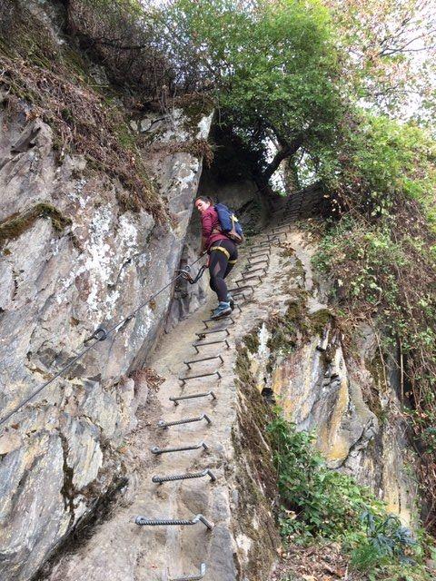 Kletterpartie für Einsteiger
