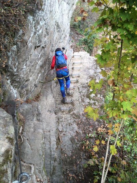 Klettern am Mittelrhein