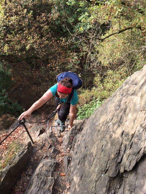 Am Boppard-Klettersteig