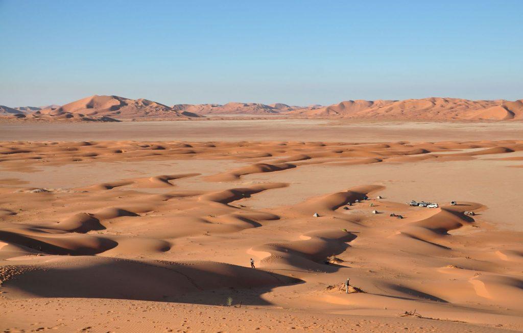 Rub al Khali - die größte Sandwüste der Welt liegt in Oman