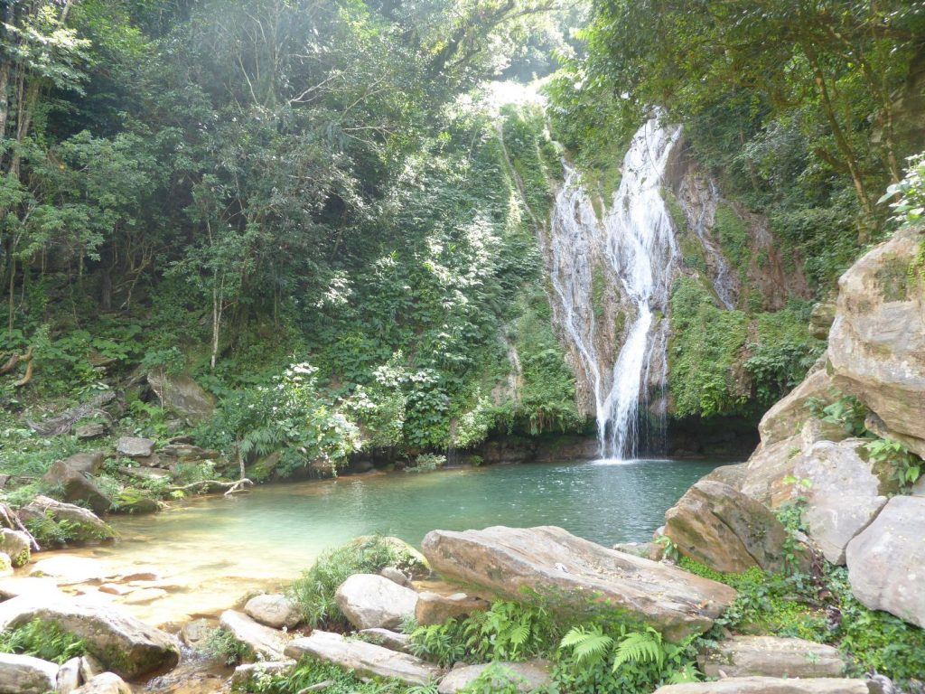 Wasserfall in Topes de Collantes