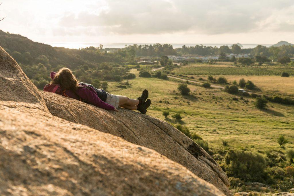 Entspannt ohne lästiges Gepäck wandern und die Natur genießen