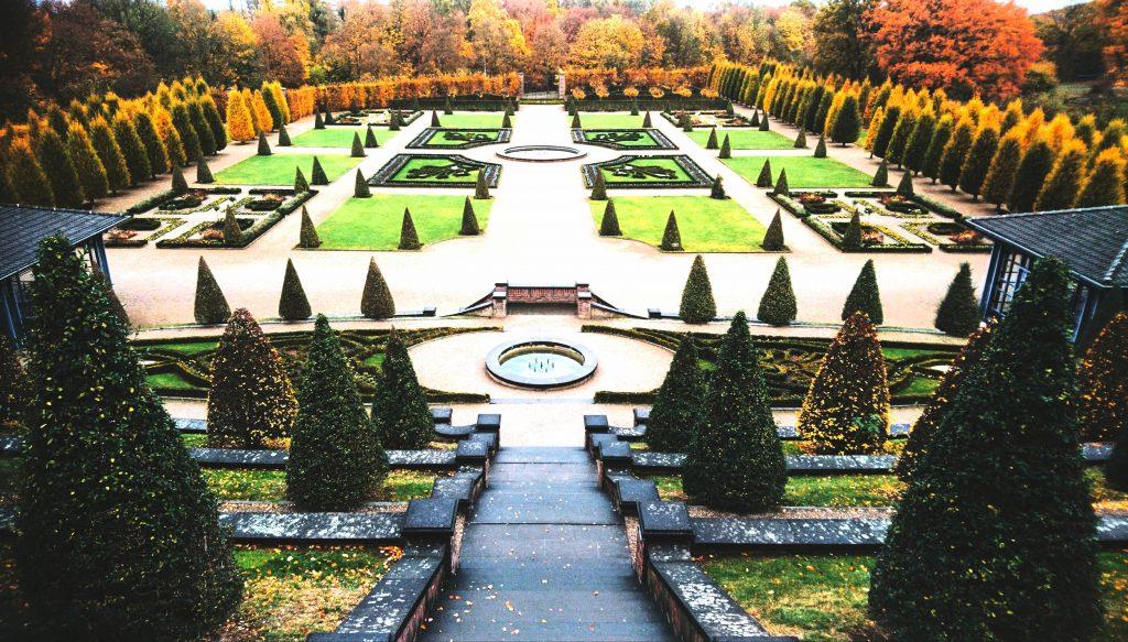 Highlight Nummer zwei beim Wochenendtrip: der Barockgarten im Kloster Kamp