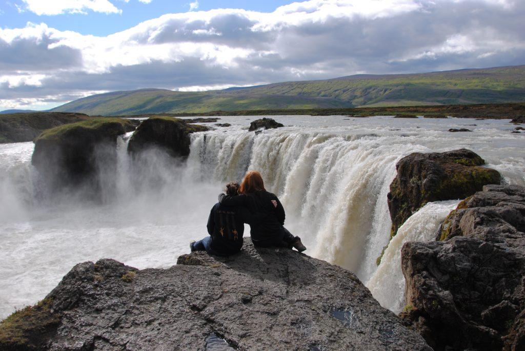 Goðafoss im Norden von Island