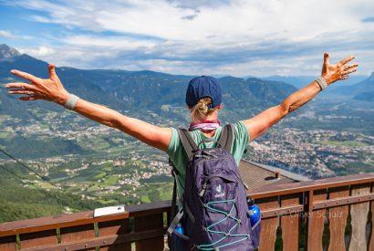Von Oberstdorf nach Meran: Ein Traumbuch über einen traumhaften Weg