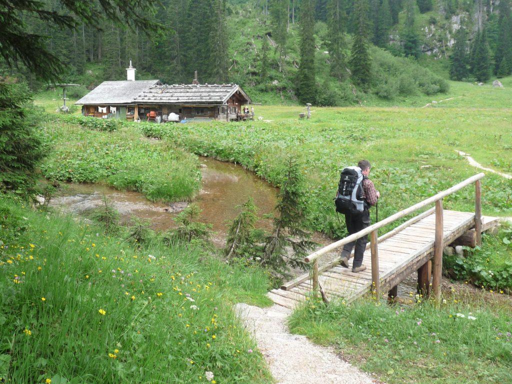 Die Wasseralm oberhalb vom Königssee, Berchtesgadener Land.