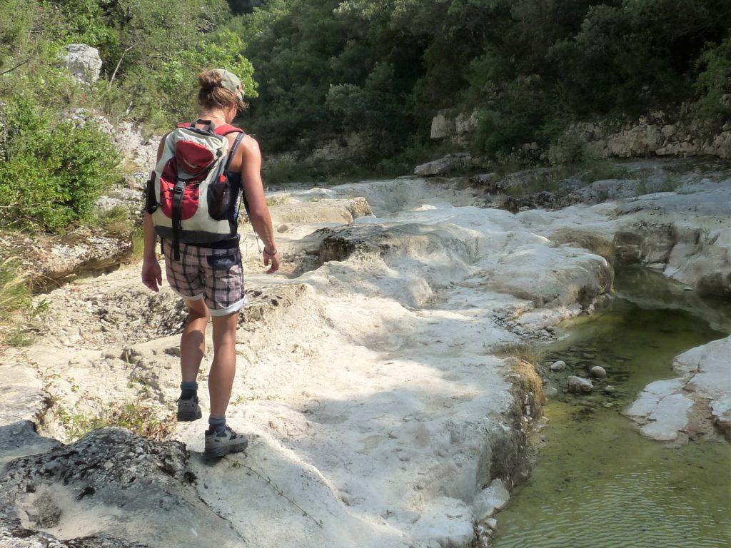 Weisheiten zum Wandern aus den Schluchten der Cevennen, Frankreich.
