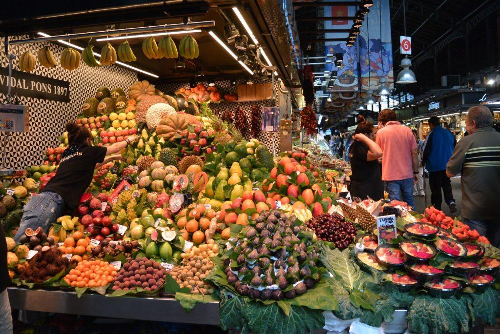 tropische Fruchtauswahl