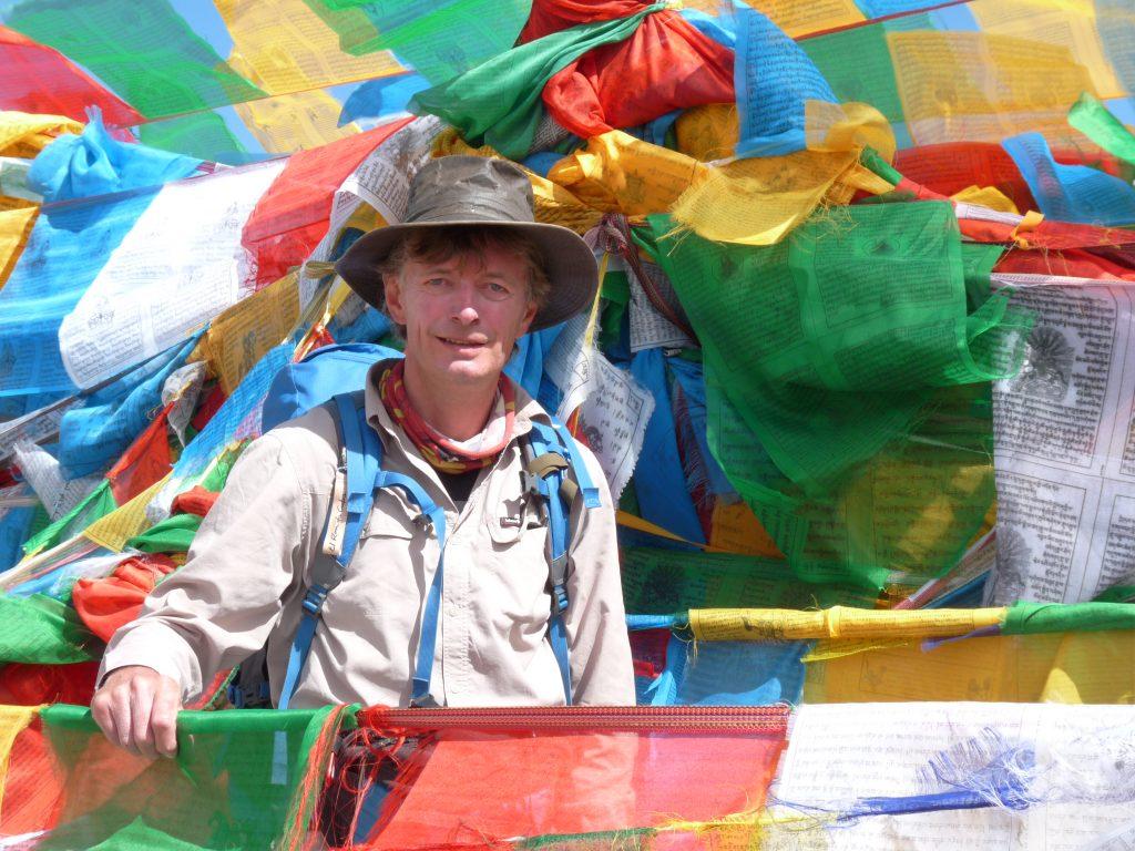 Sonnenhut und lange Ärmel: nicht nur in Tibet eine Empfehlung!