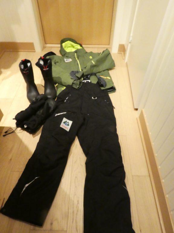 Die Leihausrüstung zum Schneeschuhwandern