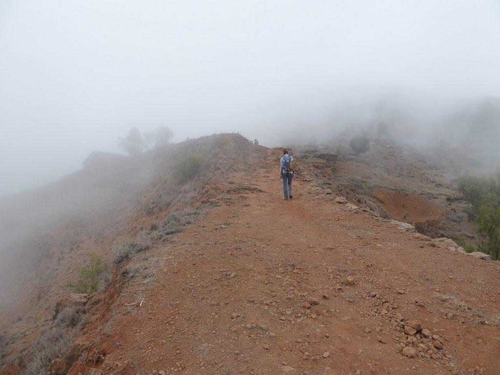 Auf dem Weg zur Hochebene Espongeiros