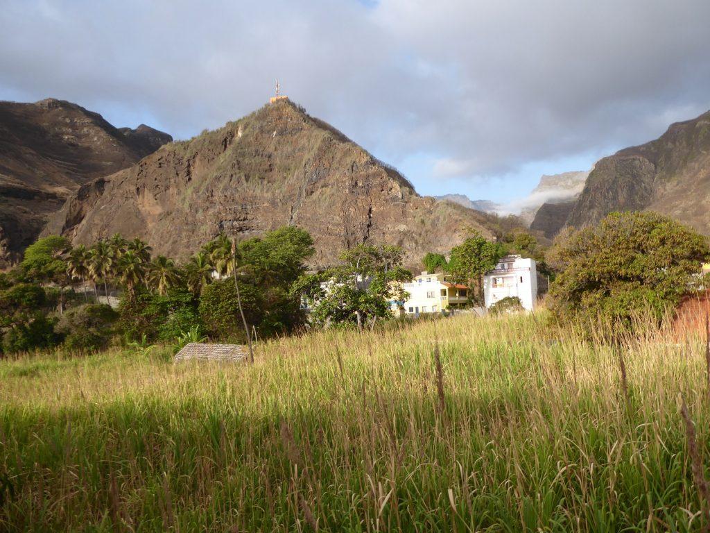 Blick ins Paúl-Tal auf Santo Antao