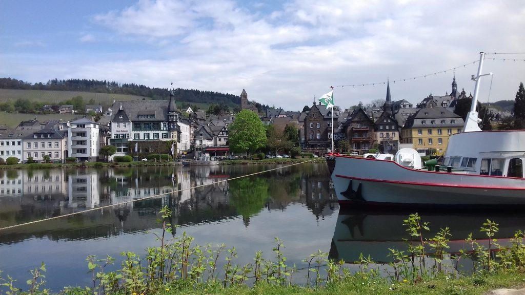Malerischer Blick in Traben-Trabach