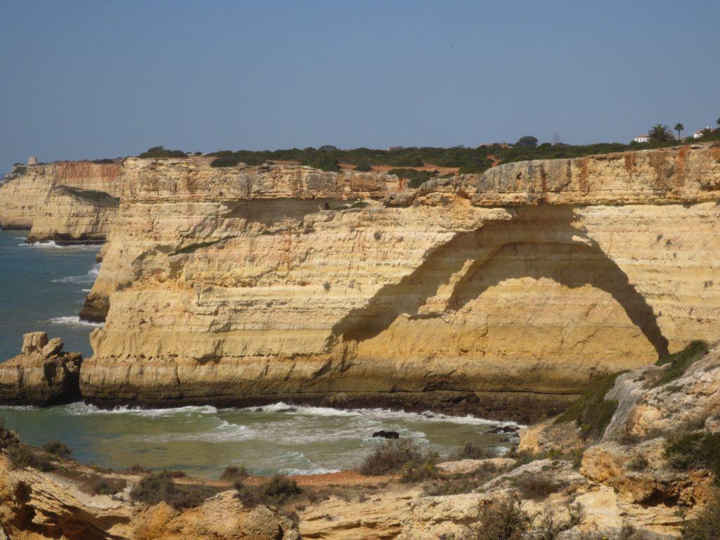Felsküste an der Algarve