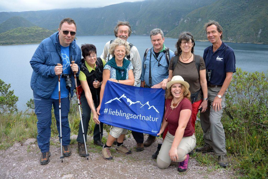 Meine Reisegruppe in Ecuador