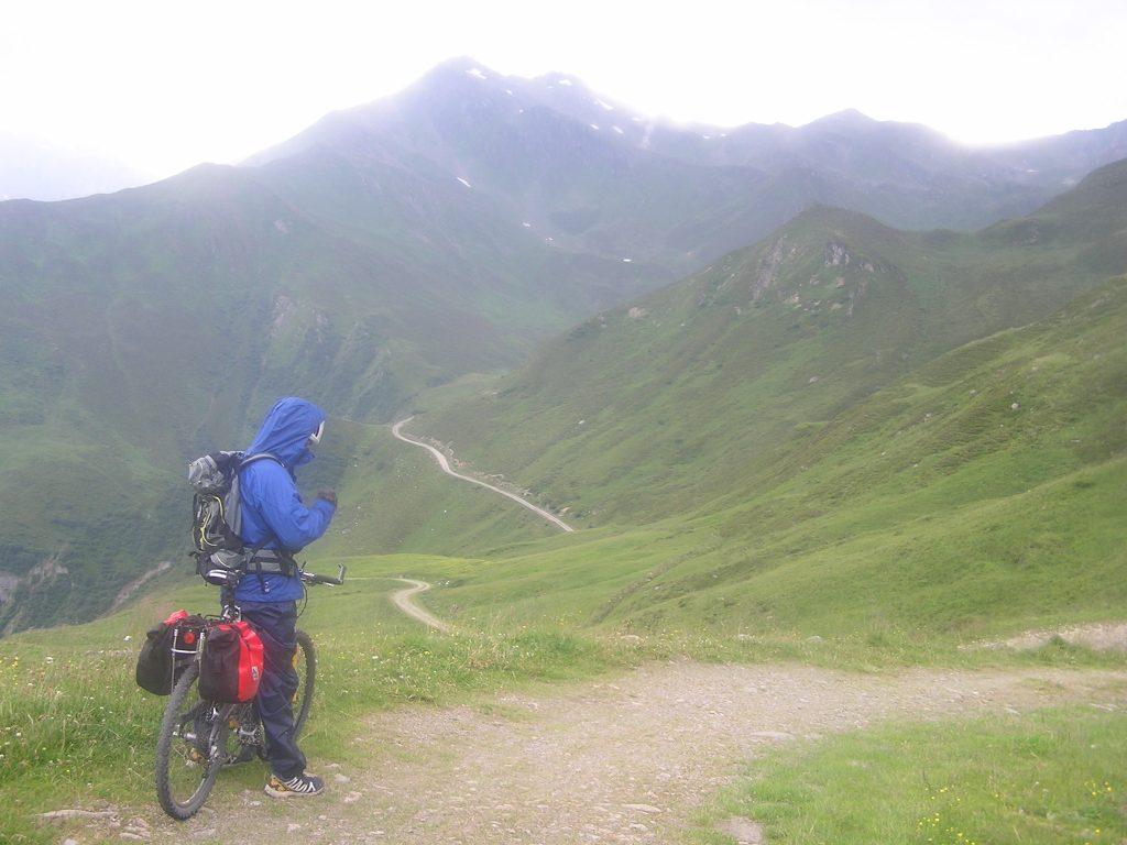 Bei Gewitter: Runter vom Berg ... aber Ruhe bewahren!