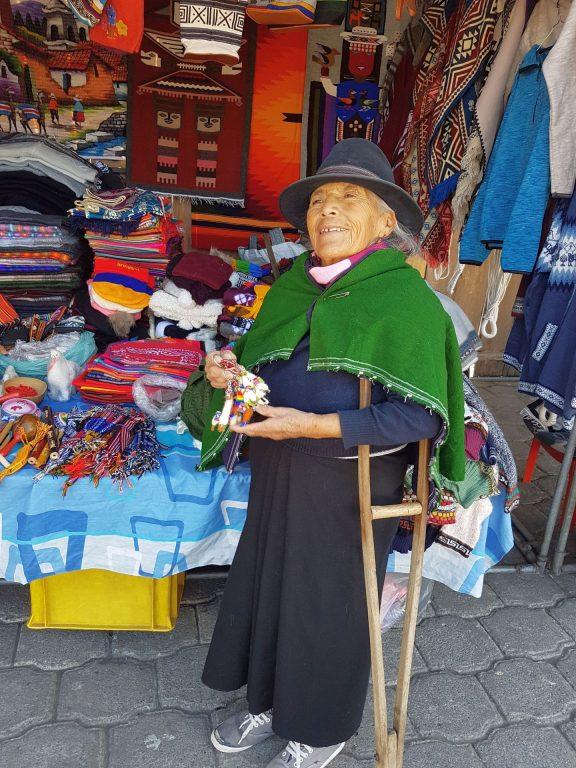 Auf dem Markt in Otavalo