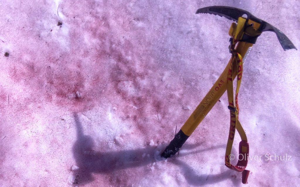 Ein Massaker im Schnee? Nein alles ganz freiedlich