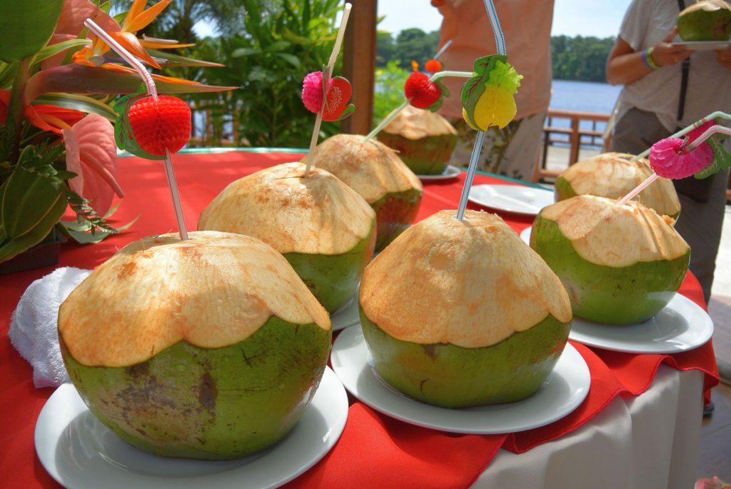 Pipa fria - frische grüne Kokosnuss