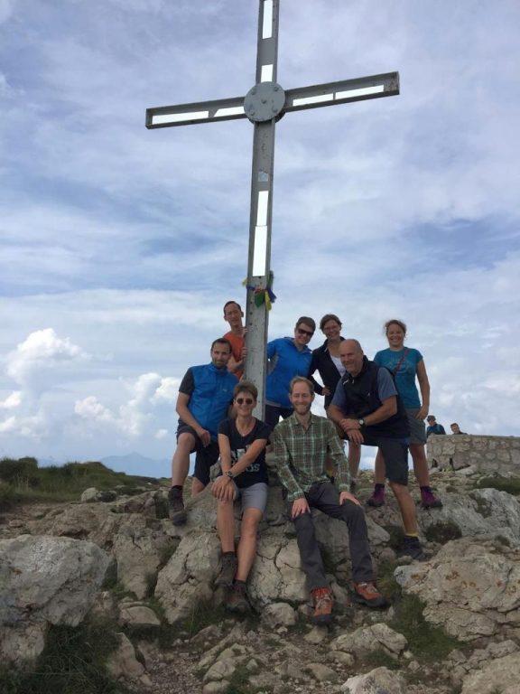Gipfelsturm Monte Stivo