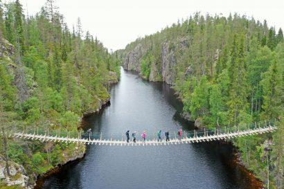 Finnland Drohne