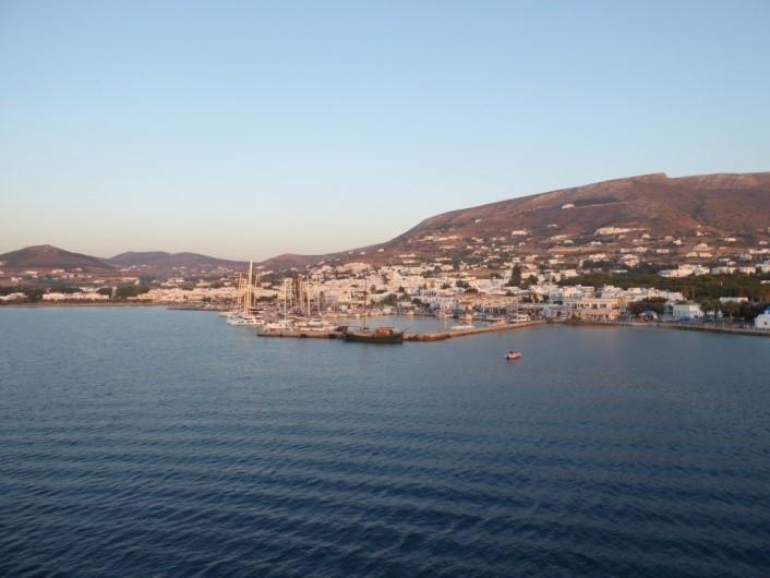 Ankunft auf den Kykladen in Paros