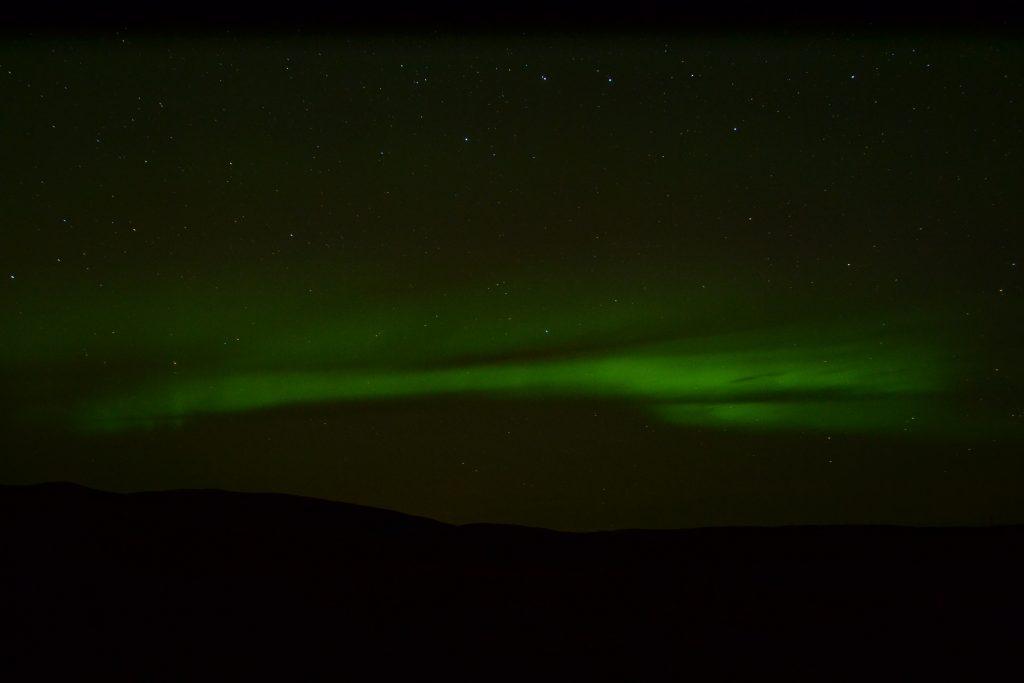Nordlichter überm Mývatn